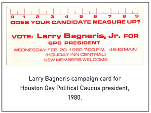 50 Years/50 Collections: Larry Bagneris and the Double Fight for Civil & LGBTQ Rights
