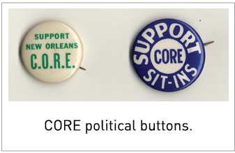 CORE political buttons.