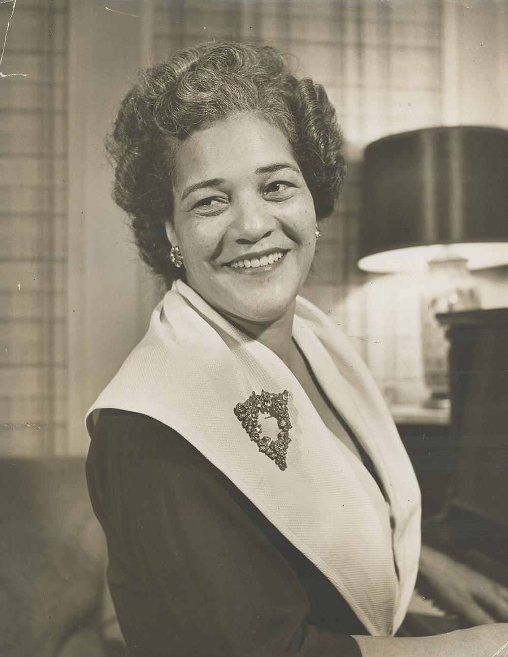 Portrait of Mary Morehead Richardson