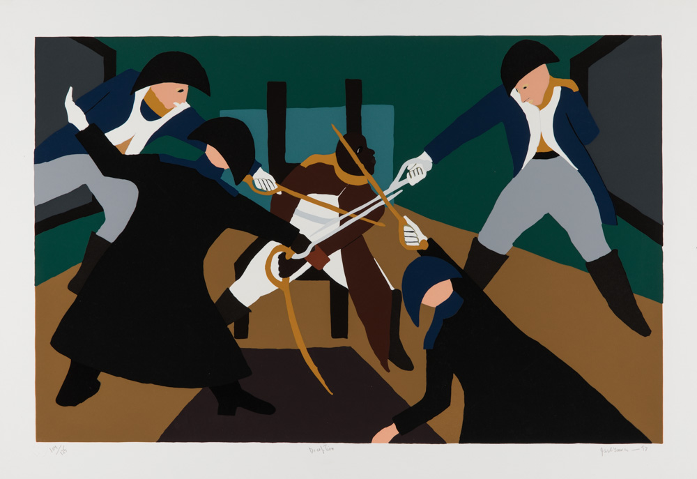 'Deception' by Jacob Lawrence