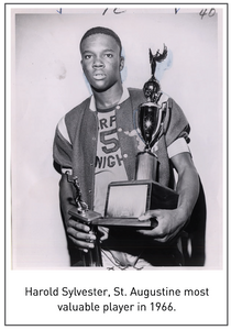 Harold Sylvester, St. Augustine most valuable player in 1966.