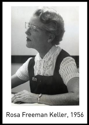 NOLA4Women: Rosa Freeman Keller: A White Ally That Fought Racism