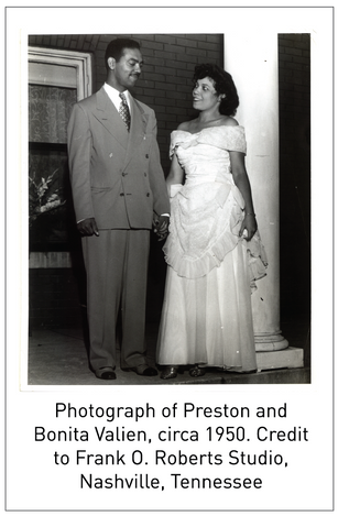 50 Years/50 Collections: The Preston and Bonita Valien Papers, 1969