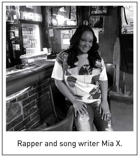 Rapper and song writer Mia X.