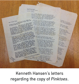 """From the Stacks: Contraband to Souvenir, the """"San Quentin copy"""" of Chester Himes' Pinktoes"""