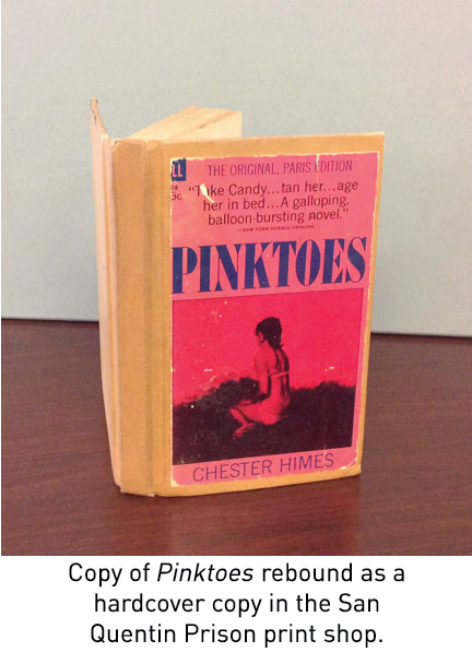 Kenneth Hansen's letters regarding the copy of Pinktoes.