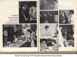 Xavier University 1979 Student Government Association