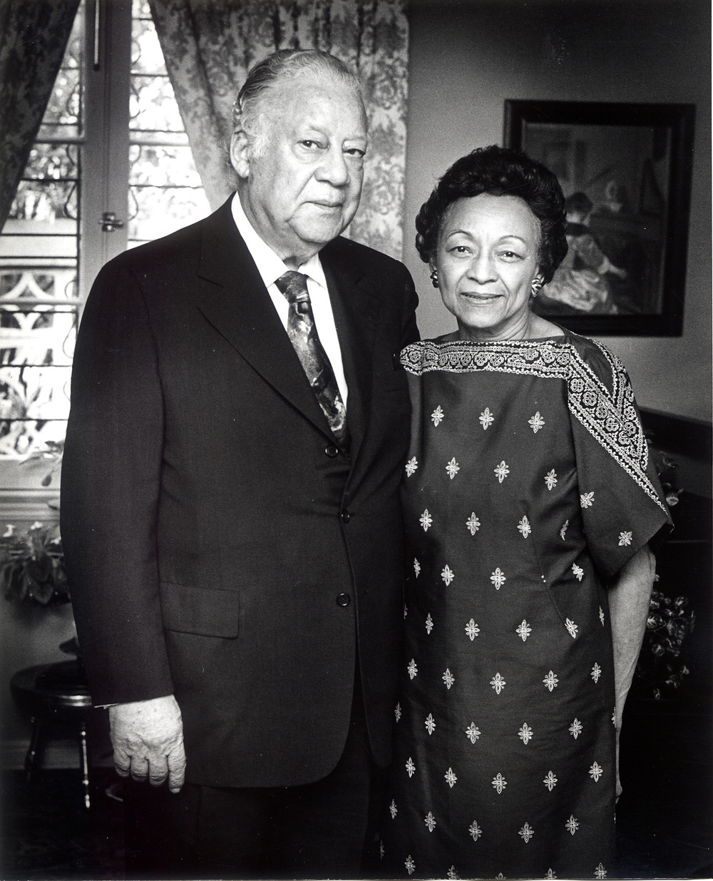 Albert W. and Jessie C. Dent, ca 1979