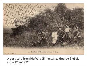 Postcard from Ida Vera Simonton to George Siebel, circa 1906-1907