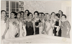 Membership installation of New Orleans Chapter of LINKS, Inc., 1957.