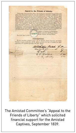 Center Launches Digital Collection on Amistad Case