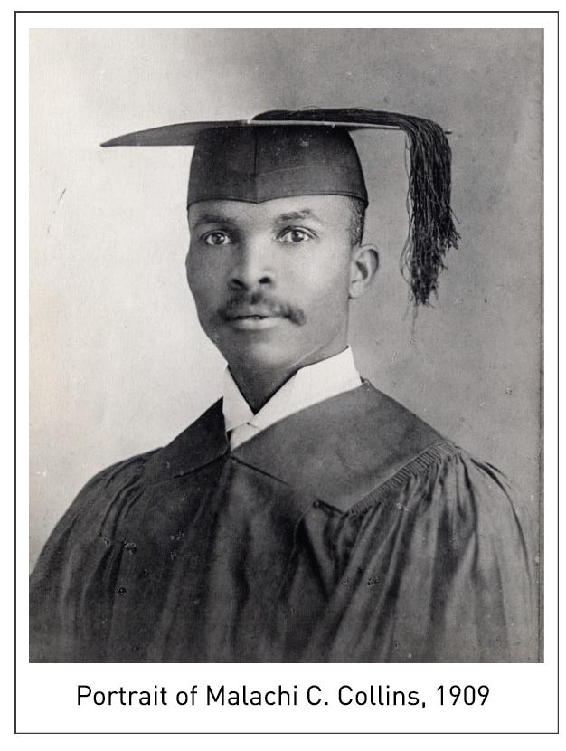 Portrait of Malachi C. Collins, 1909
