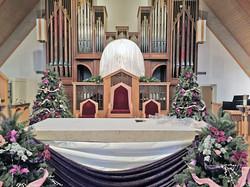 Gaudete_Sunday_altar