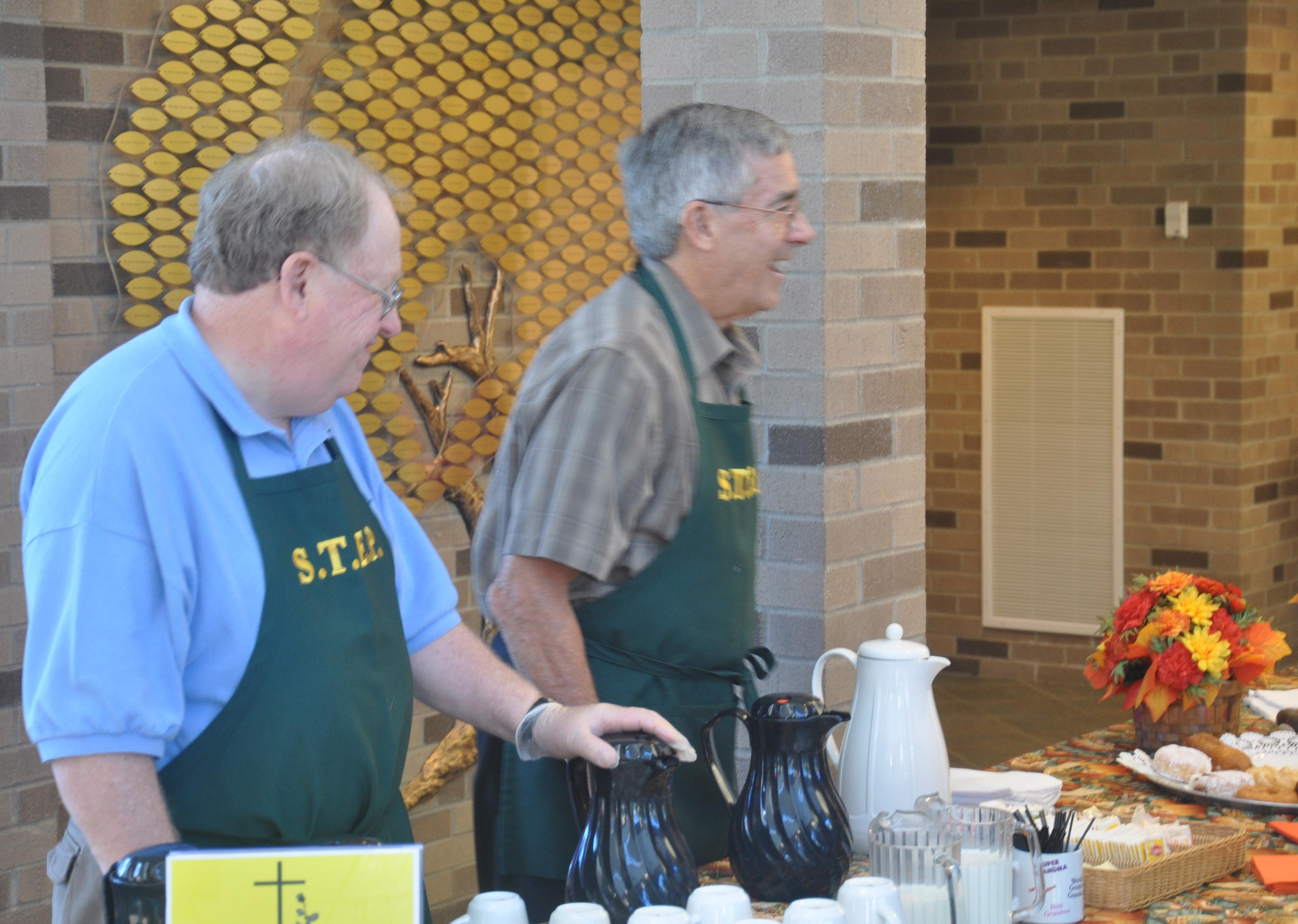 St Theresa Church - Coffee&donuts 006-10052014