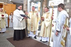 Blessing of Mercy Door 1