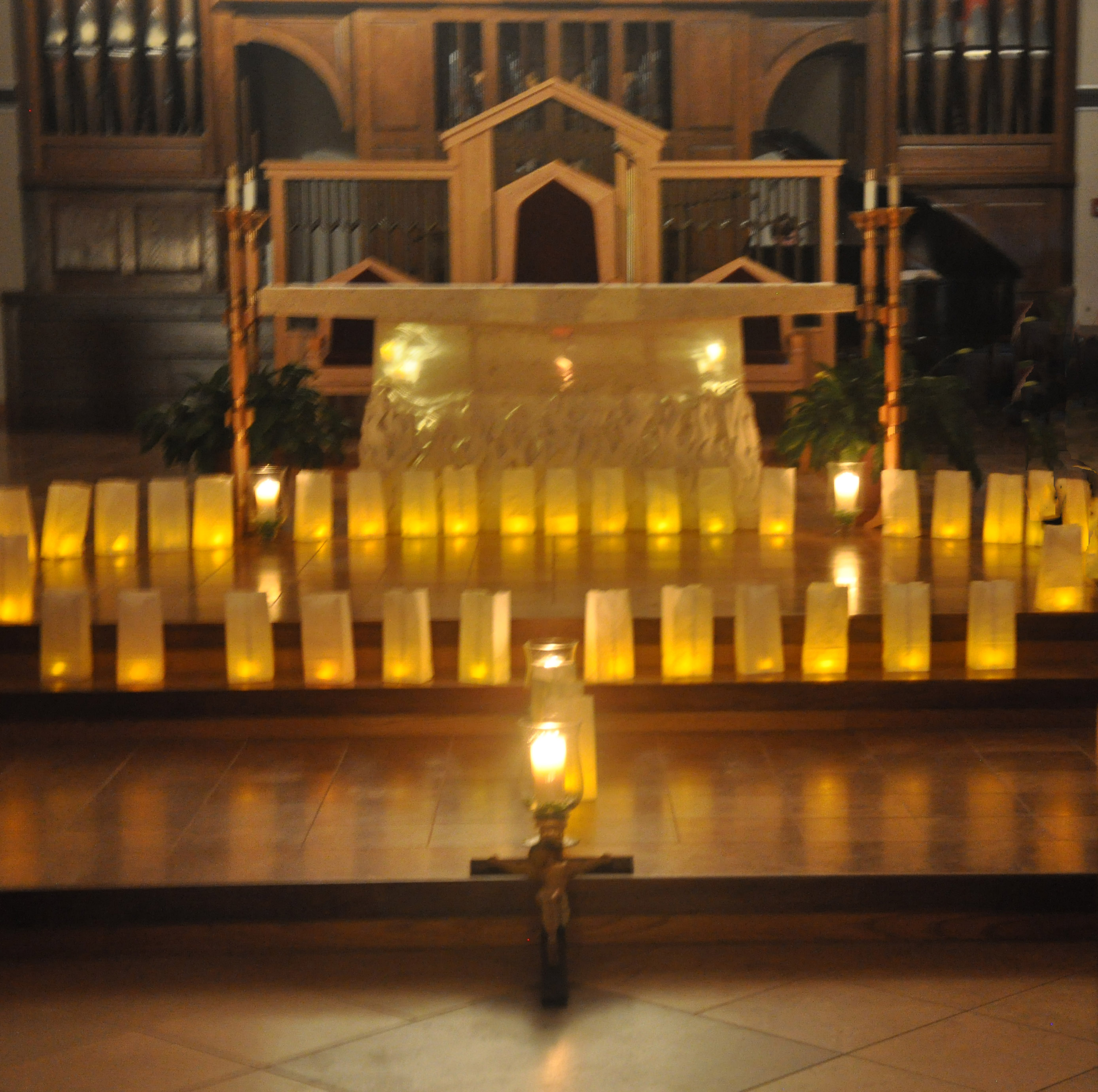 St Theresa Church - Living Rosary 002-10032014