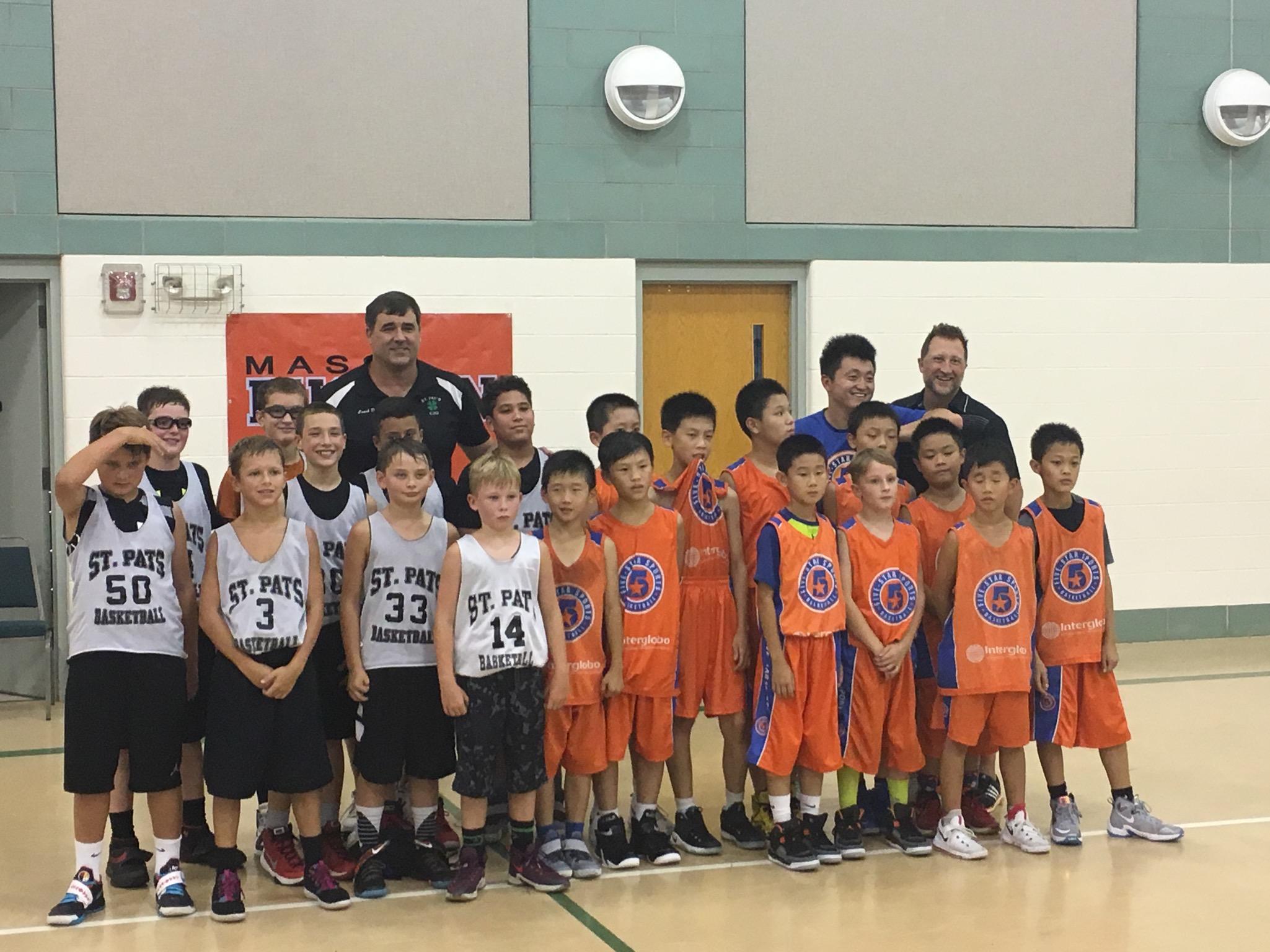 USA vs China Basketball Team