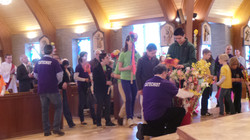Polish Palm Procession on Palm Sunda