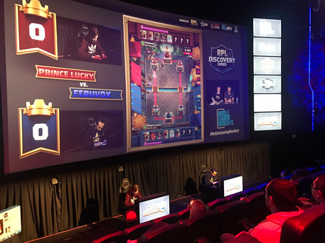 eSports debuts at the Chinese Theatre MX4D in Hollywood
