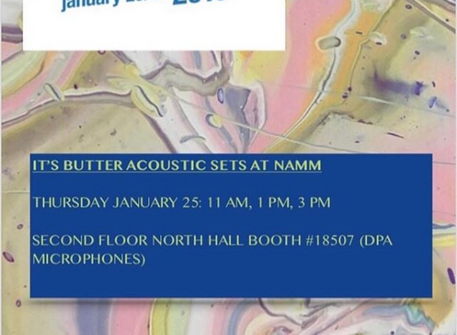 """DA Music Artist """"It's Butter"""" performing live at NAMM Thursday January 25th."""
