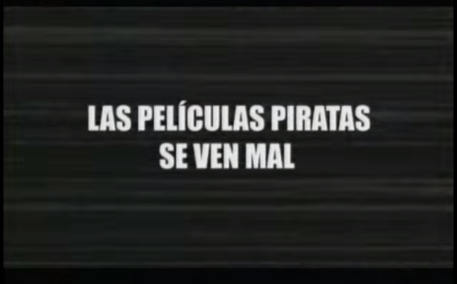 Peliculas piratas