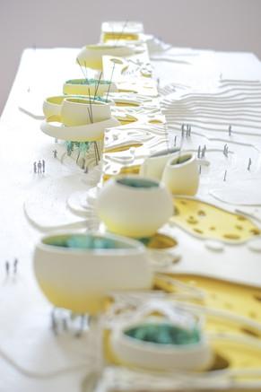 Miami Beach Wall Architectural Model