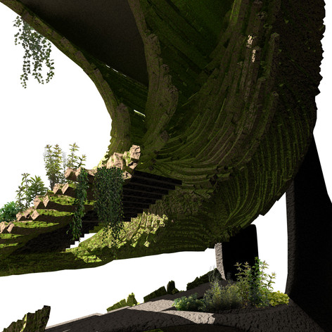 Splayed Stone Towers Barry Wark Andreas Korner Biophile Biophilic biophilia environmental sustainable digital architecture  (12).jpg