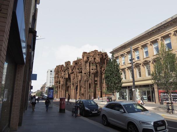 View from Sauchiehall Street