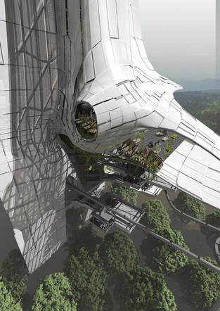 Splayed Stone Towers Barry Wark Andreas Korner Biophile Biophilic biophilia environmental sustainable digital architecture  (9).jpg