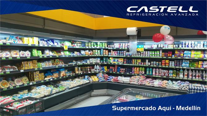 Nuevo supermercado en Medellín!