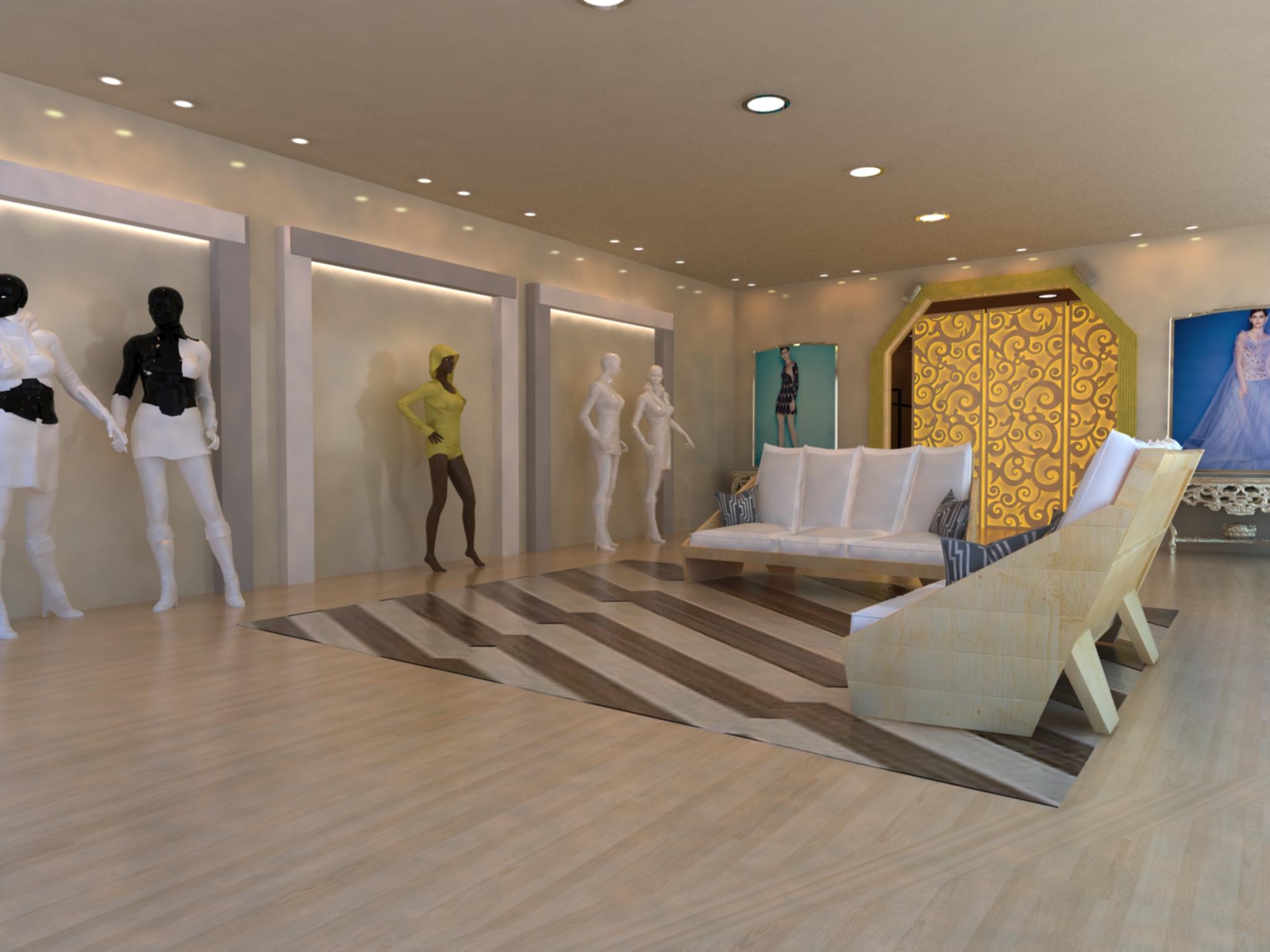Asmaa Abdullah Fashion Showroom