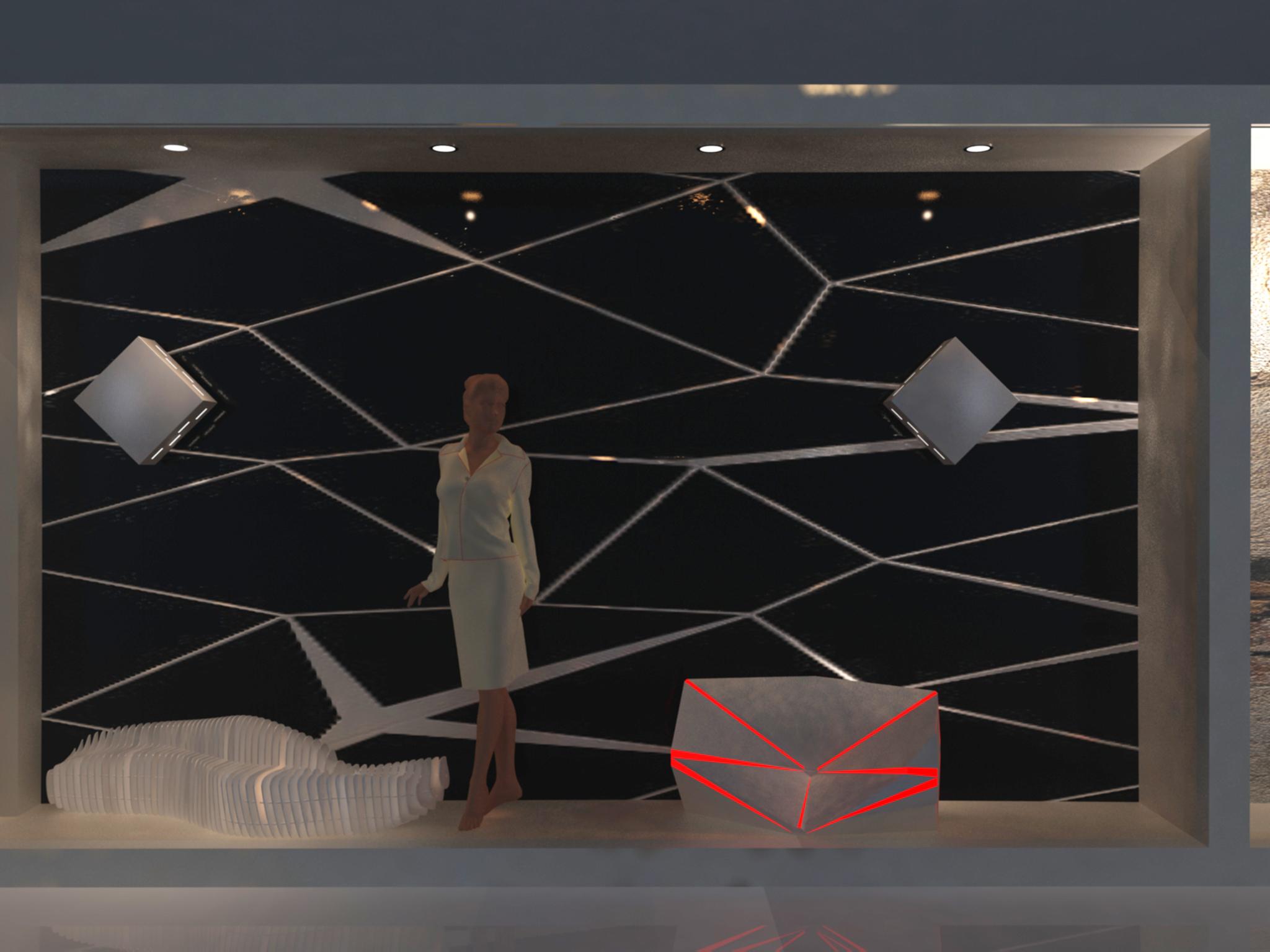 Fashion showroom Facade