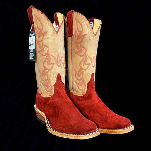 Anderson Bean Hot Red Waxy Kudu Roughout