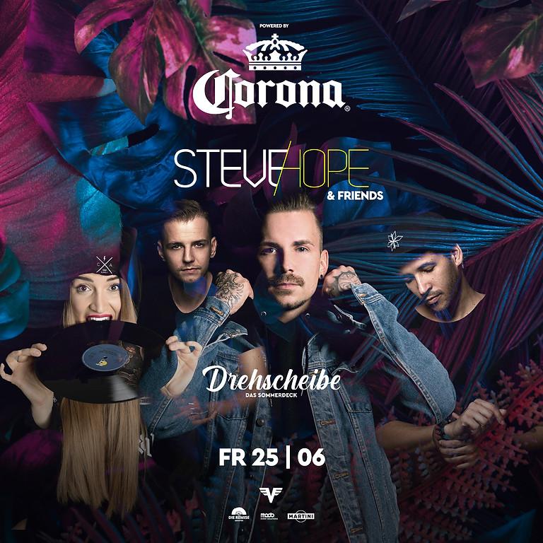 Steve Hope & Friends powered by CORONA Beer
