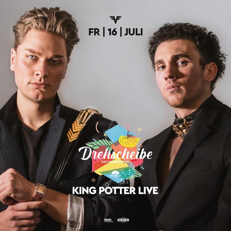 King & Potter live