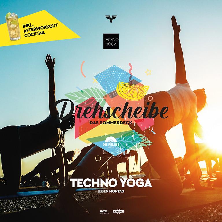 Afterwork-OUT Techno Yoga mit Leni Lindström