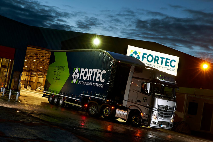 Fortec at night