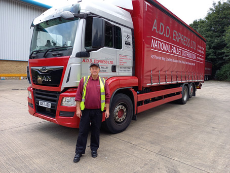 Featured Driver of the Month - John Davis