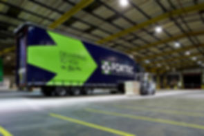 Fortec lorry at the hub