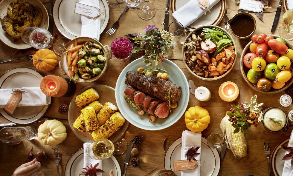 Marc Seguin - Custom Thanksgiving Menu - 11.26