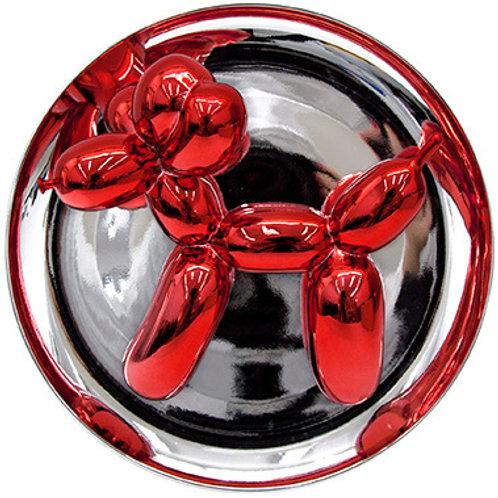 Porcelain Red Dog