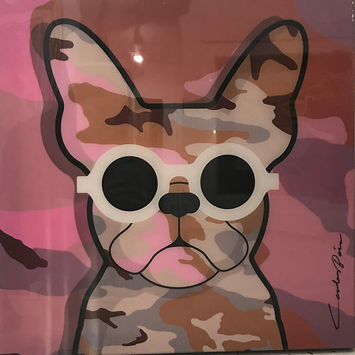 Camo Frenchie - Pink