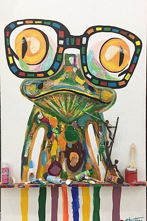 Frog Shelf II