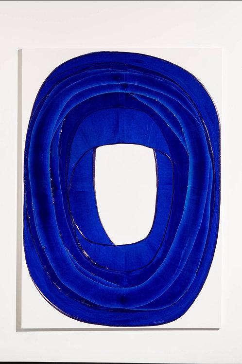 Circle Series 7 (Blue Gloss)