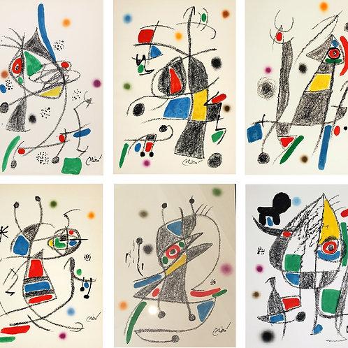 Maravillas con Variaciones Acrósticas en el Jardín de Miró