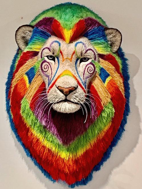Techno Lion Head