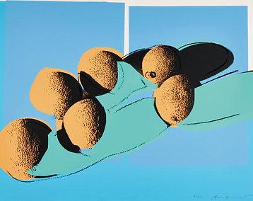 Cantaloupes I, from Space Fruit: Still Life