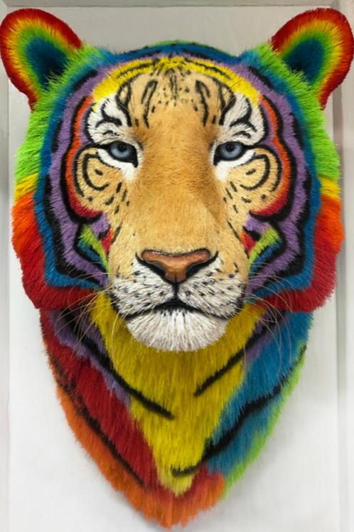 Techno Tiger Head