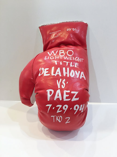 Oscar De La Hoya vs Paez