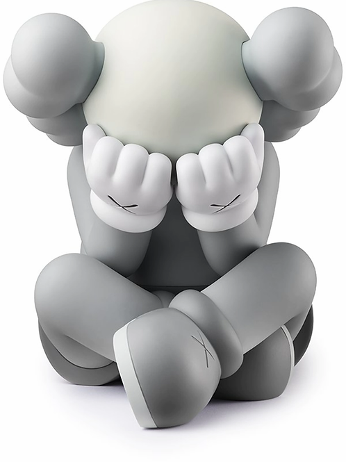 KAWS Separated Vinyl Figure Grey